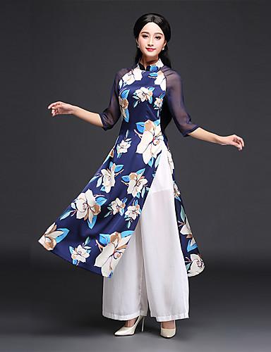 d45a3d7d0573 Původní více Nanao dai upscale retro šaty každodenní čínská cheongsam  zlepšila matka šaty rukáv šaty Audrey