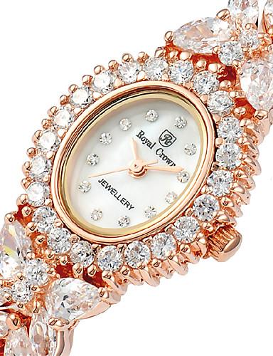 voordelige Armband Horloge-Dames Modieus horloge Kwarts Legering Band Zilver Goud