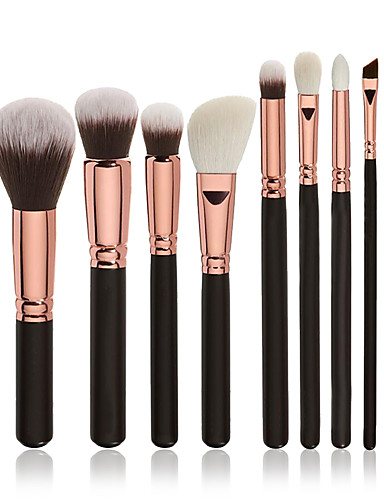 37068b87400 Professional Makeup Brushes Makeup Brush Set 8pcs Professional Full  Coverage Synthetic Hair Wood Makeup Brushes for Blush Brush Foundation Brush  Eyeshadow ...