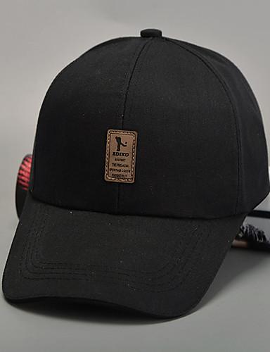 قبعة البيسبول / قبعة شمسية بقع للجنسين قطن