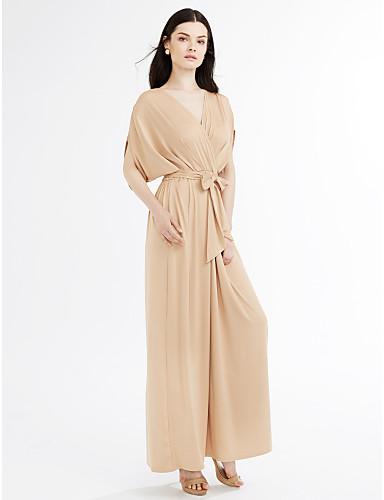 f66bb4a10054 Γυναικεία Μεγάλα Μεγέθη Κομψό στυλ street Θήκη Φόρεμα - Μονόχρωμο