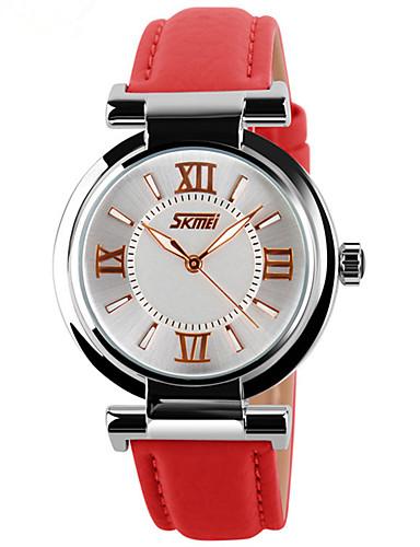 Mulheres Digital Relógio de Pulso Chinês Calendário Mostrador Grande Couro Legitimo Banda Amuleto Criativo Relógio Elegante Elegant