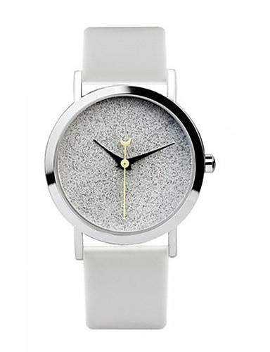 Dámské Módní hodinky Křemenný Kůže Kapela Bílá