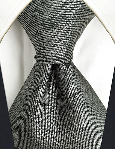 trabalho bonito do partido do vintage dos homens gravata de rayon ocasional - jacquard contínuo, básico