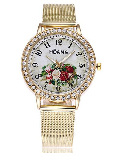 Mulheres Relógio de Pulso Relógio Elegante Relógio de Moda Chinês Quartzo Venda imperdível Lega Banda Amuleto Casual Elegant Dourada
