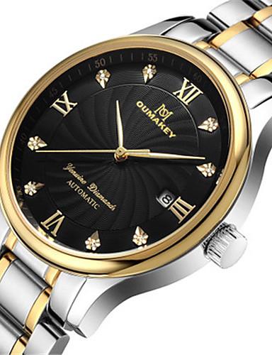 Pánské Módní hodinky Křemenný Kalendář Voděodolné Slitina Kapela Stříbro