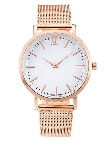 Dámské Křemenný Náramkové hodinky čínština Cool / Hodinky na běžné nošení Nerez Kapela Na běžné nošení / Minimalistické / Módní Černá /