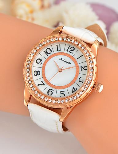 Mulheres Único Criativo relógio Relógio de Pulso Relógio de Moda Relógio Casual Quartzo Venda imperdível Couro Legitimo Banda Amuleto