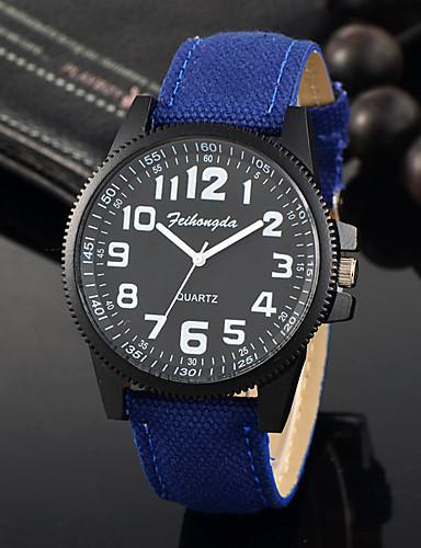 Herrn Armbanduhr Einzigartige kreative Uhr Armbanduhren für den Alltag Sportuhr Modeuhr Quartz Stoff Band Charme Luxus Kreativ Freizeit
