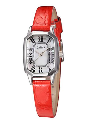 Pánské Módní hodinky Křemenný Kalendář Voděodolné Kůže Kapela Na běžné nošení Černá Bílá Modrá Hnědá Zlatá žlutá