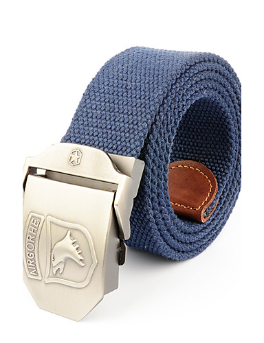 Men's Waist Belt - Solid Colored Pure Color