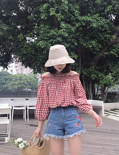 Women's High Rise strenchy Shorts Pants,Street chic Relaxed Solid