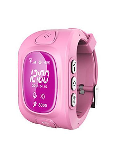 Amichevole Orologio Alla Moda Intelligente Guarda Digitale Silicone Blu - Verde - Rosa Digitale Verde Blu Rosa #06052500 Adottare La Tecnologia Avanzata
