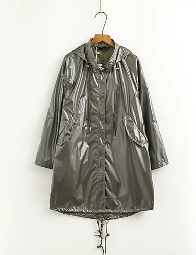 Women's Going out Casual Spring Fall Coat