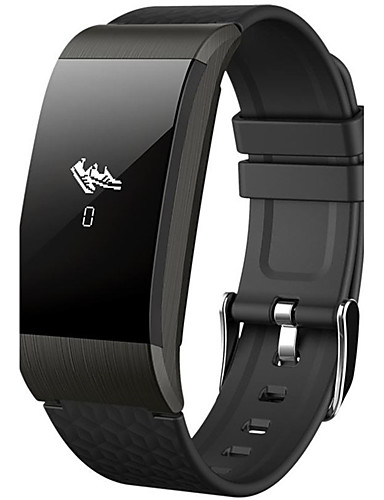 Men's / Women's Sport Watch / Military Watch / Smartwatch Chinese Heart Rate Monitor / Calendar / date / day / Slide Rule Silicone Band Charm / Luxury / Casual Black / Silver / Gold / Pedometers