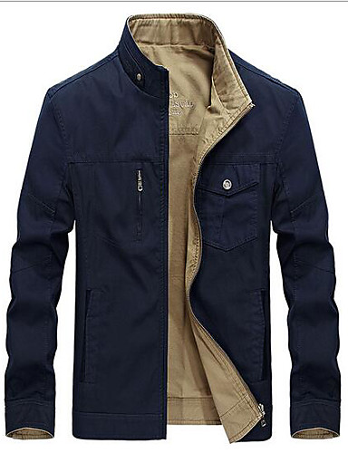Men's Daily Casual Spring Fall Jacket