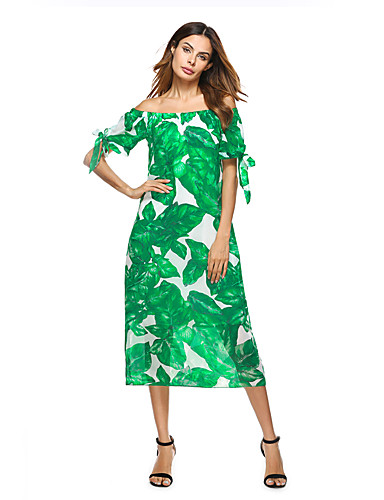 Women's Holiday Going out Daily Club Beach Sexy Vintage Boho Sheath Dress
