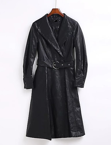 Women's Going out Daily Casual Street chic Fall Winter Coat