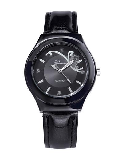 Mulheres Relógio de Pulso Relógio de Moda Quartzo Venda imperdível PU Banda Amuleto Preta Branco Vermelho