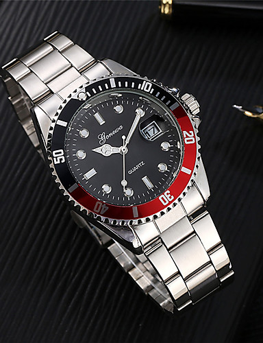 Men's Sport Watch Fashion Watch Wrist watch Unique Creative Watch Casual Watch Chinese Quartz Calendar / date / day Water Resistant /