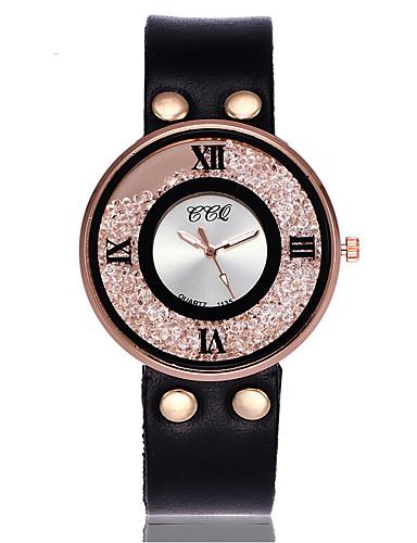 Women's Floating Crystal Watch Simulated Diamond Watch Unique Creative Watch Wrist watch Dress Watch Fashion Watch Casual Watch Chinese