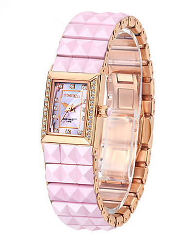 Women's Fashion Watch Quartz Metal Band White Gold Rose Gold