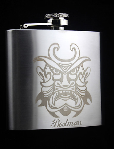Non-personalized Material Stainless Steel Others Flagon Flask Hip Flasks Him Groom Bridesmaid Groomsman Couple Parents Friends Party