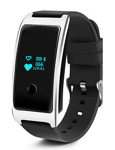 Men's Smart Watch Fashion Watch Digital Silicone Band Black