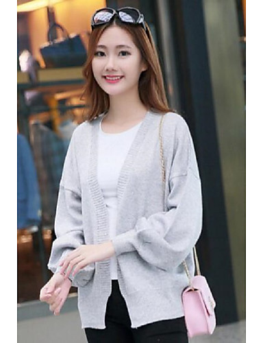 Women's Daily Regular Cardigan