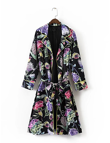 Women's Sports Daily Going out Street chic Winter Fall Coat