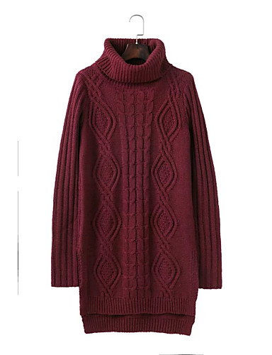 Women's Going out Daily Casual Street chic Long Pullover