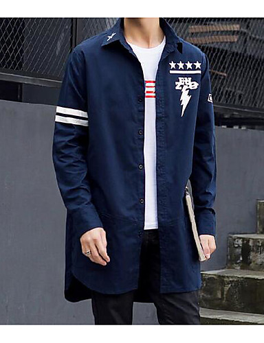 Men's Daily Casual Spring Trench Coat