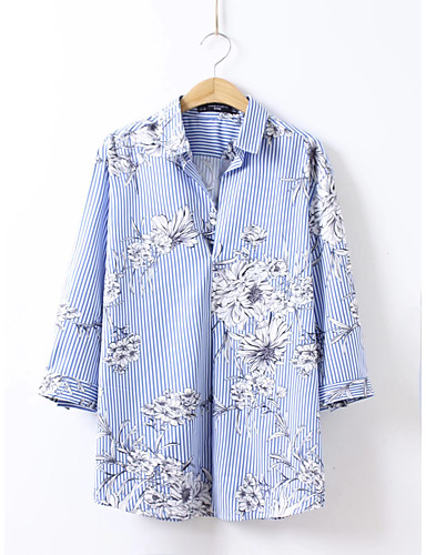 Women's Going out Daily Casual Active Summer Fall Shirt