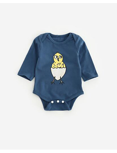 Baby Endelt Annen Bomull Sommer Blå