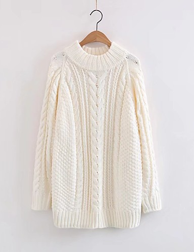 Women's Going out Daily Casual Cute Street chic Regular Pullover