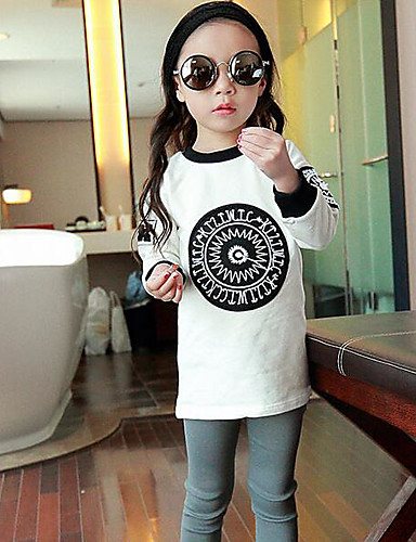 Girls' Color Block Others Tee,Others Fall Short Sleeve