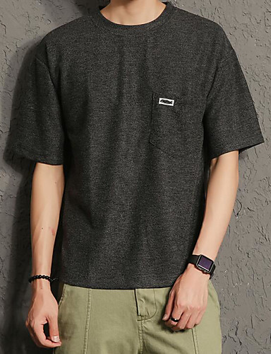 Men's Going out Daily Street chic Summer T-shirt