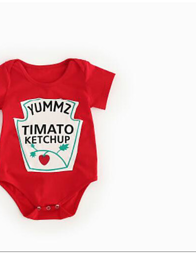 Baby Other One-Pieces, Cotton Summer Red Yellow