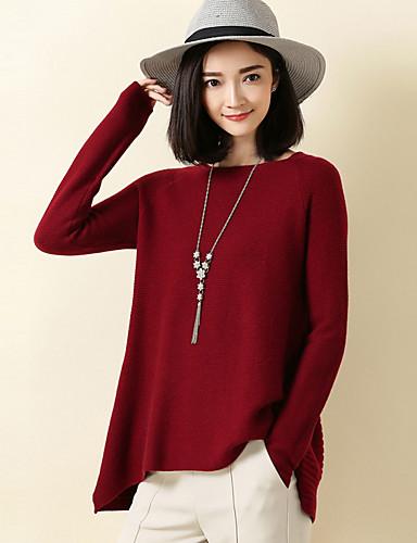 Women's Daily Work Regular Pullover