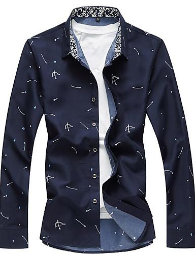 Men's Daily Casual All Seasons Shirt
