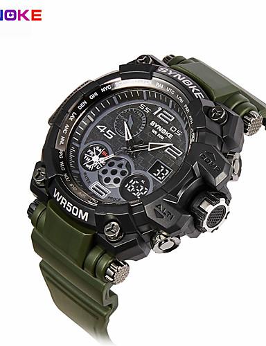 Herre Sportsklokke Militærklokke Selskapsklokke Smartklokke Moteklokke Armbåndsur Unike kreative Watch Digital Watch Kinesisk Quartz