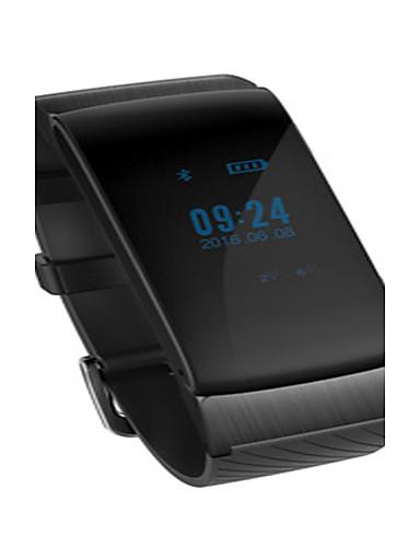 Men's Smart Watch Fashion Watch Digital Water Resistant / Water Proof Pedometer Rubber Band Black White Beige