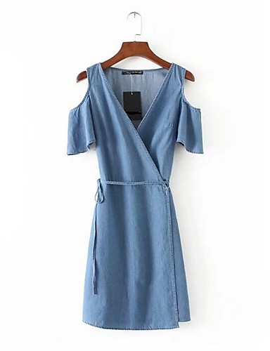 Women's Going out Daily Simple Street chic Sheath Dress