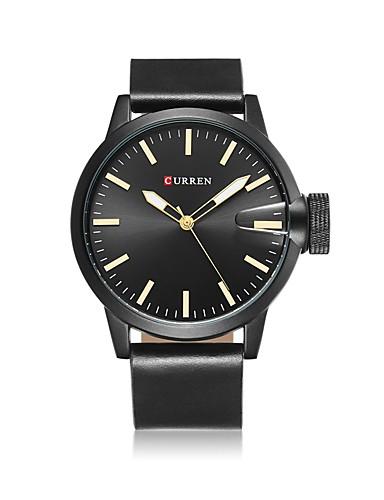 Men's Quartz Wrist Watch Smartwatch Military Watch Skeleton Watch Sport Watch Chinese Calendar / date / day Water Resistant / Water Proof