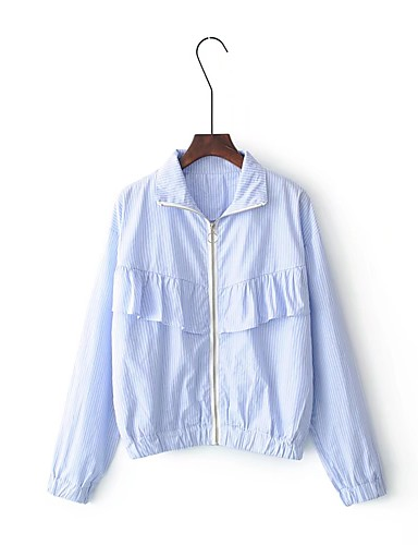Women's Going out Daily Casual Street chic Winter Fall Jacket