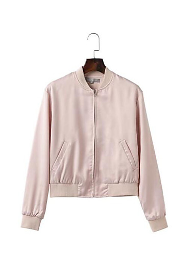 Women's Going out Daily Street chic Summer Fall Jacket