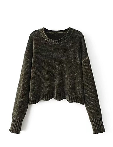 Women's Going out Daily Casual Regular Pullover