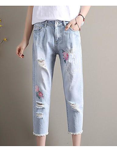 Women's Mid Rise Inelastic Chinos Pants,Simple Slim Solid