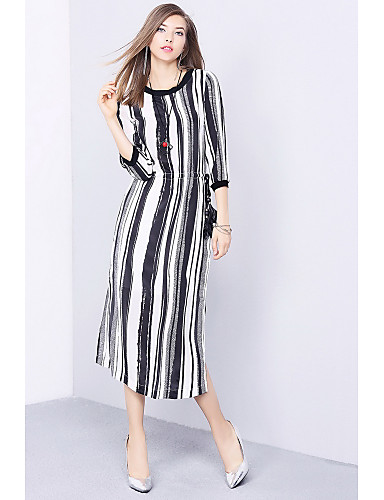 Women's Going out Daily Simple Shift Dress