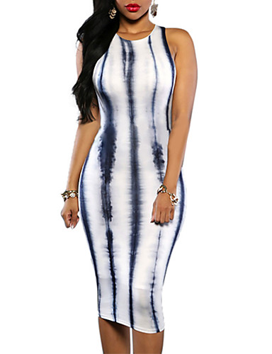 a5673a8421f Ριγέ, Γυναικεία Φορέματα, Αναζήτηση στο LightInTheBox